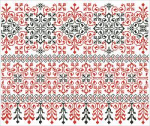 Схема Червоне та чорне (Центральна УкраЇна)