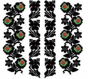 Схема Сорочка (перед)