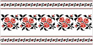 Схема Узор цветочки