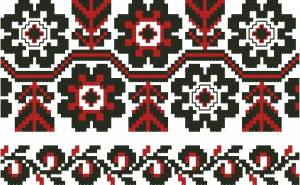 Схема Узор, цветы