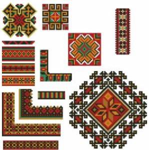 Схема Орнаменты мелкие