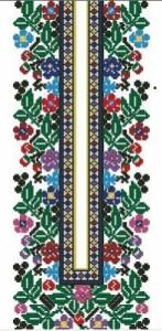 Схема Сорочка вышиванка цветы