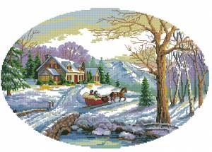 Схема Зимняя страна чудес