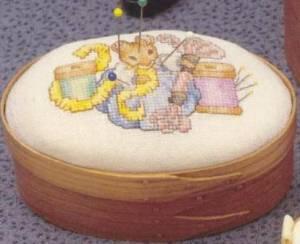 Схема Мышка с нитками