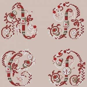 Схема Швейный алфавит