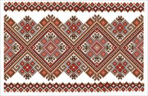 Схема Рушник Багрянець (Тернопілля)