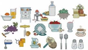 Схема Мелочи для кухни