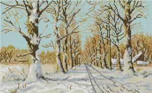 Схема Зимняя дорога