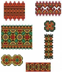 Схема Соцветие узоров