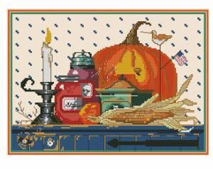 Схема Осенний натюрморт