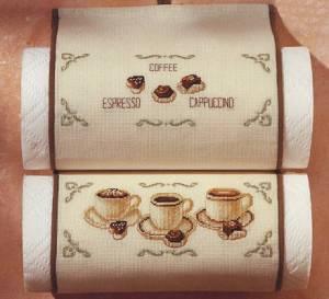 Схема Кофе. Эспрессо. Капучино (монохром)