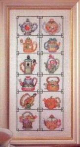 Схема Коллекция чайников-заварников