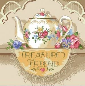 Схема Кухня / Treasured Friend Teapot