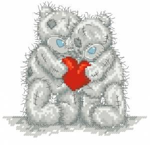 Схема Мишки Тедди / Love