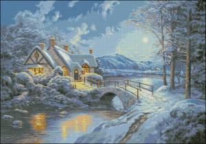 Схема Зима / Noapte alba