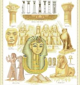 Схема Египетские мотивы