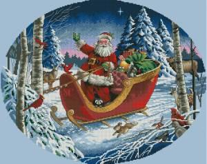 Схема Санта на санях