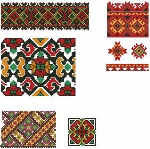 Схема Орнаменты ленты