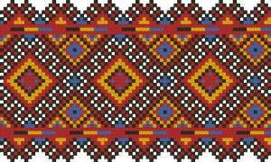 Схема Узор,  широкая лента