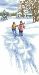 Схема Снежные ангелы / Snow Angels