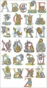 Схема Кошачий алфавит