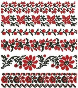 Схема Цветы