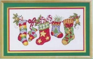 Схема Рождественские носки