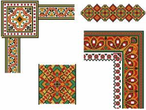 Схема Интересные орнаменты