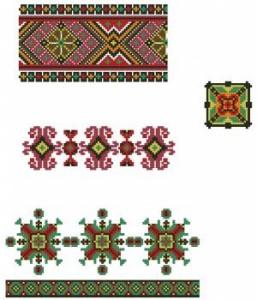 Схема Орнамент ажурный