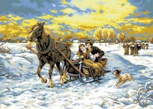 Схема Зимняя прогулка