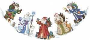 Схема Деды Морозы. Юбка