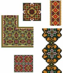 Схема Орнаменты разнообразные