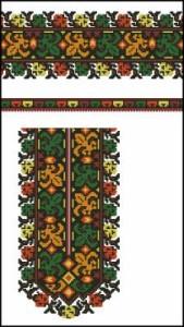 Схема Вышиванка, орнамент