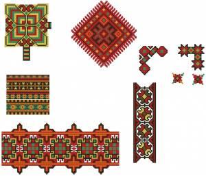 Схема Феерверк орнаментов