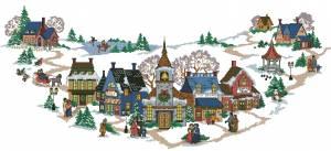 Схема Сказочная деревня. Юбка