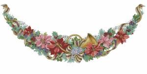 Схема Рождественская арка. Юбка