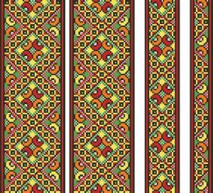 Еноты схемы для вышивки
