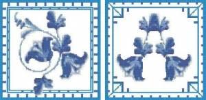 Схема Голубые колокольчики
