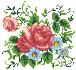 Схема Троянди та ромашки