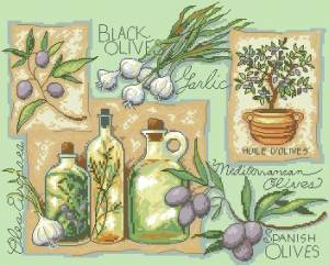 Схема Вкус Средиземноморья / Taste of the Mediterranean