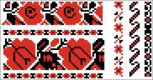 Схема Узор цветочный