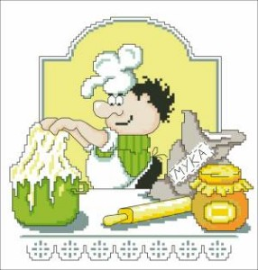 Схема Кулинар. Испеку я колобок. Поварята