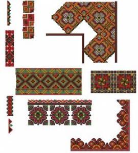 Схема Цветочный орнамент