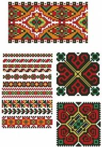 Схема Четыре орнамента