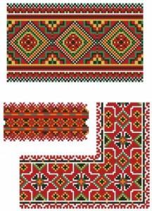 Схема Три орнамента