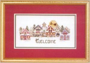 Схема Здравствуй, праздник / Holiday Welcome