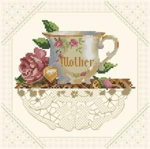 Схема Чашка для мамы