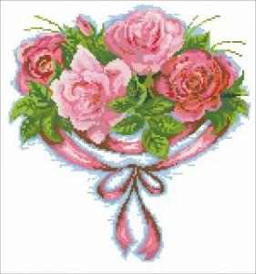 Схема Трояндовий цвiт