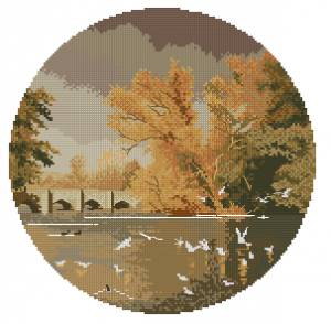 Схема Осенние размышления