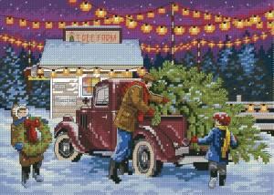 Схема Покупка новогодней ёлки